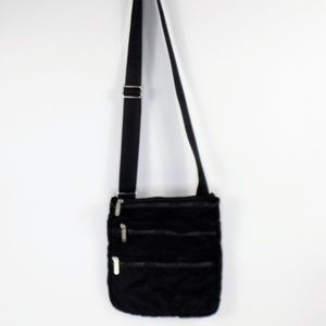 Le Sport Sac Lightweight Black Crossbody